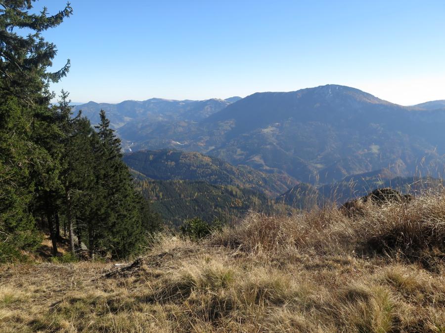 Bucheck (1315m) und Rennfeld (1629m), über Frauenberg